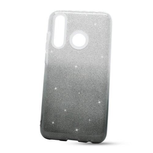 Puzdro Shimmer TPU 3in1 Huawei P Smart 2019/Honor 10 Lite - strieborno-čierne