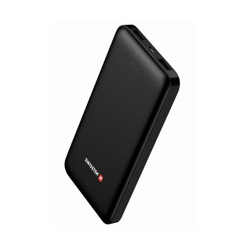 Power Bank Swissten Worx 10000mAh Čierny