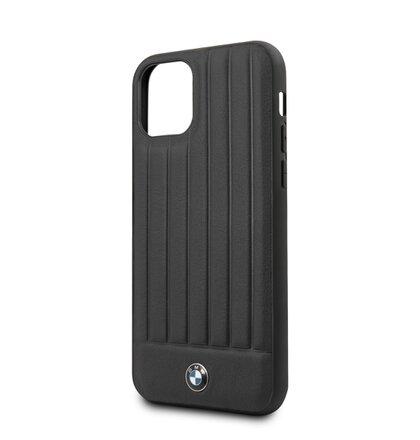 BMHCN61POCBK BMW Real Leather Hard Case pro iPhone 11 Black