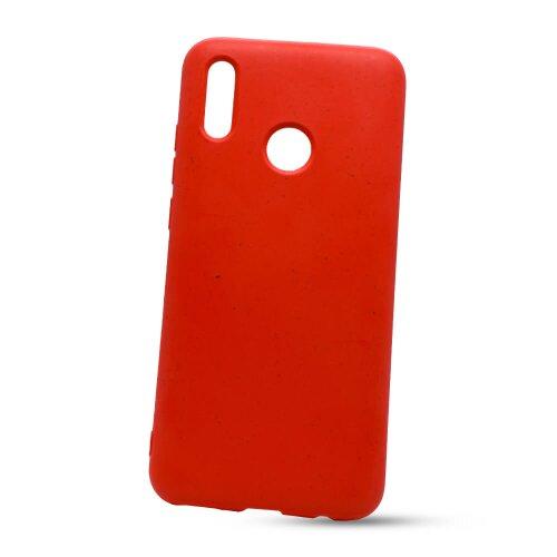 Puzdro Eco TPU Xiaomi Redmi Note 8 Pro - červené (plne rozložiteľné)