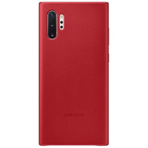 EF-VN975LRE Samsung Kožený Kryt pro N975 Galaxy Note 10+ Red