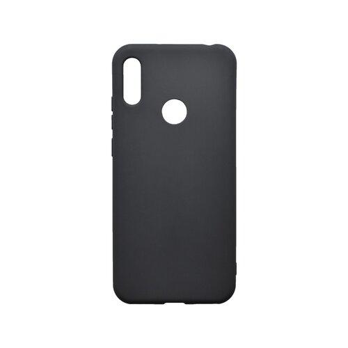 Matné silikónové puzdro Huawei Y6s/Honor 8A čierne