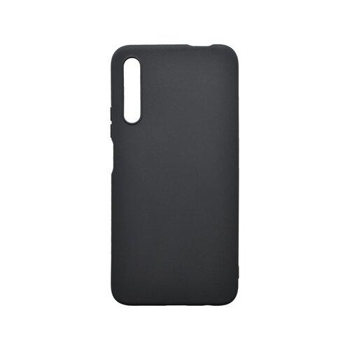 Matné silikónové puzdro Huawei P Smart Pro čierne