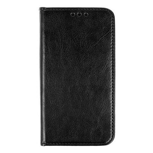 Puzdro Book Special Leather (koža) LG K40 2019 - čierne