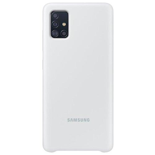 EF-PA515TWE Samsung Silikonový Kryt pro Galaxy A51 White