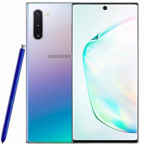 Samsung Galaxy Note 10 256GB N970F Dual SIM, Strieborný - SK distribúcia