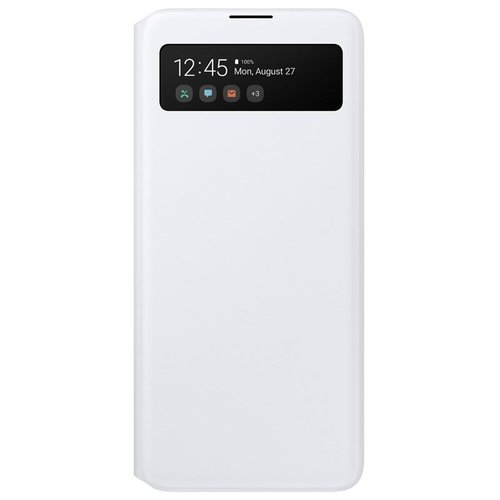 EF-EA515PWE Samsung S-View Pouzdro pro Galaxy A51 White