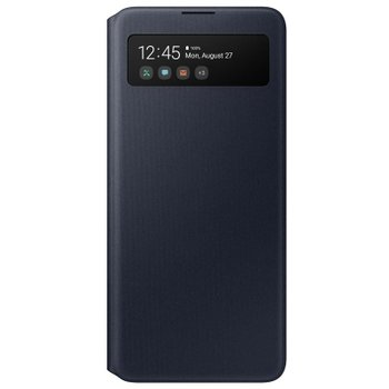 Puzdro Original EF-EA515PBE S-View Samsung Galaxy A51 Black (EU Blister)