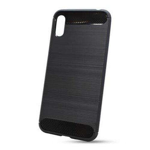 Puzdro Carbon Lux TPU Huawei Y6s 2019/ Honor 8A (fingerprint) - čierne