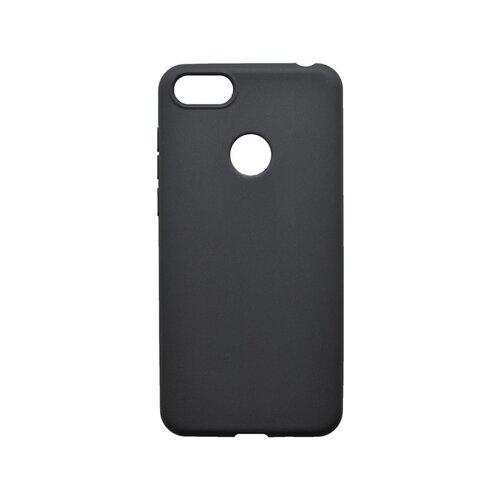 Matné silikónové puzdro Moto E6 Play čierne