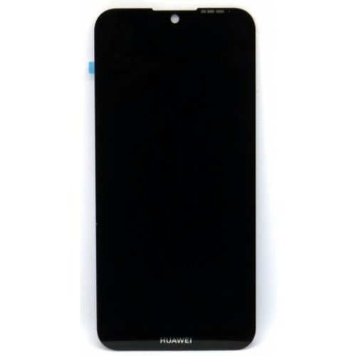 Huawei Y5 2019 - LCD Displej + Dotyková Plocha + Rám + Malé Diely - Čierny