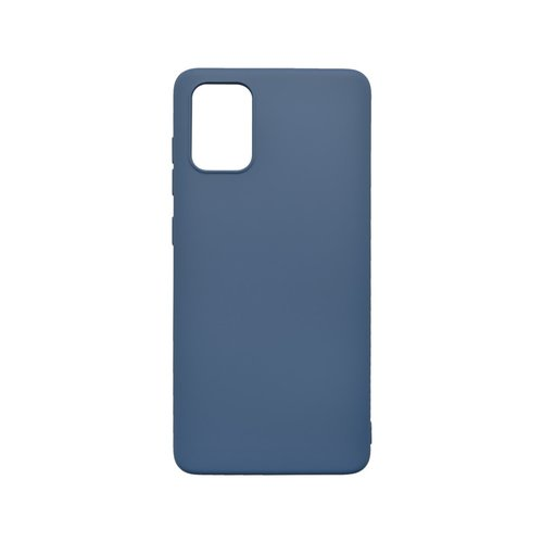 Silikónové puzdro Soft Samsung Galaxy A51 tmavomodré