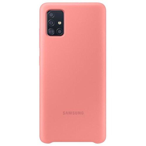 EF-PA515TPE Samsung Silikonový Kryt pro Galaxy A51 Pink