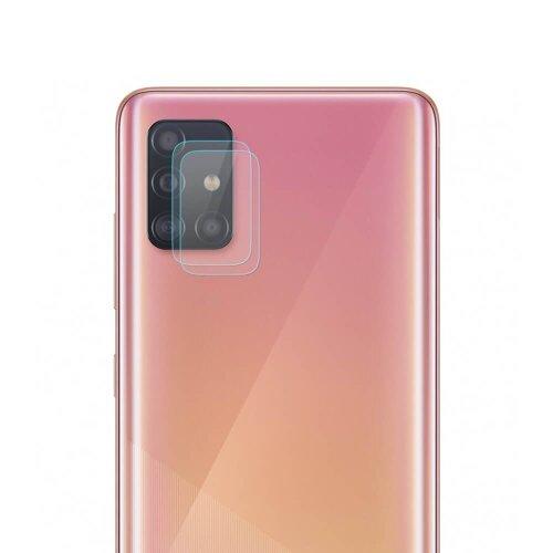 (2ks v balení) Ochranné sklo fotoaparátu Home Screen 9H Samsung Galaxy A51 A515