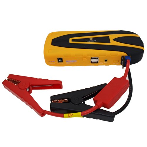 VIKING Notebook powerbank Car Jump Starter Zulu 16 16000mAh PLUS, Žltá