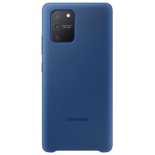 EF-PG770TLE Samsung Silikonový Kryt pro Galaxy S10 Lite Blue
