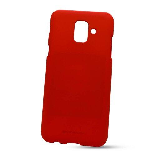 Puzdro Mercury Soft Feeling TPU Samsung Galaxy A6 A600 - červené