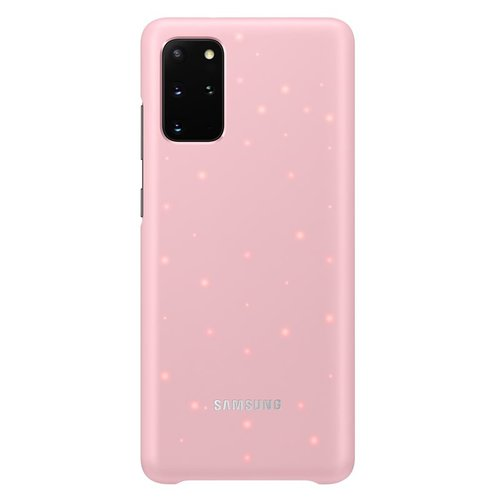 EF-KG985CPE Samsung LED Kryt pro Galaxy S20+ G985 Pink (EU Blister)