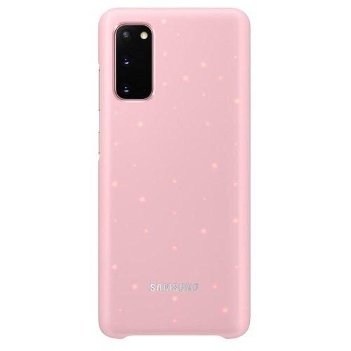 Samsung EF-KG980CP LED Cover pre Galaxy S20, ružové