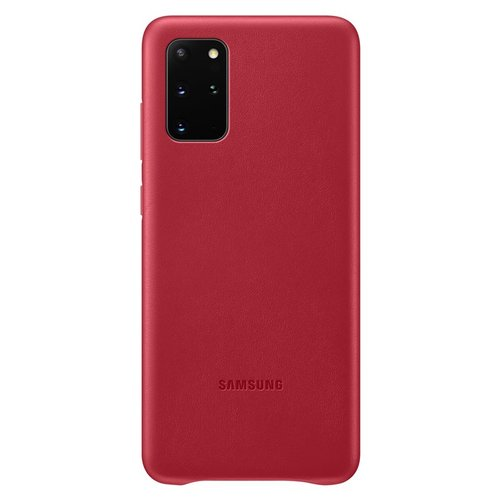 EF-VG985LRE Samsung Kožený Kryt pro Galaxy S20+ G985 Red (EU Blister)