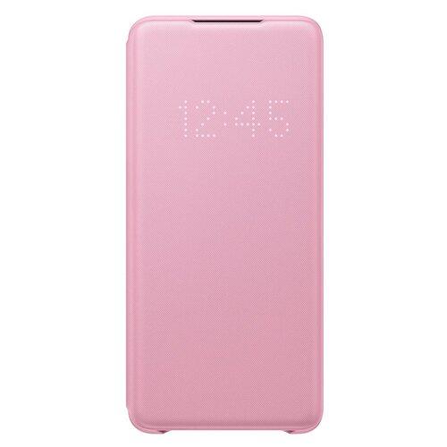 EF-NG985PPE Samsung LED S-View Pouzdro pro Galaxy S20+ G985 Pink (EU Blister)