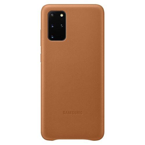 EF-VG985LAE Samsung Kožený Kryt pro Galaxy S20+ G985 Brown (EU Blister)