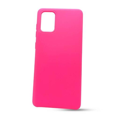 Puzdro Liquid TPU Samsung Galaxy A71 A715 - ružové