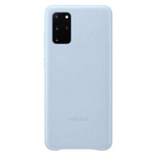 EF-VG985LLE Samsung Kožený Kryt pro Galaxy S20+ G985 Blue (EU Blister)