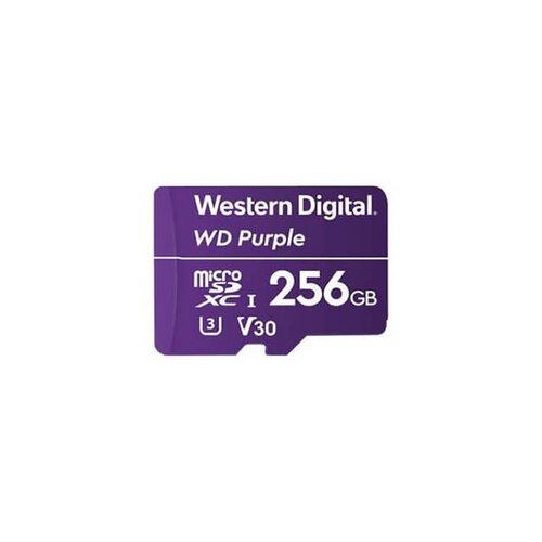 WD Purple microSDXC 256GB 100MB/s U3