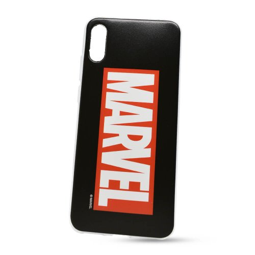 Puzdro Marvel TPU Huawei Y6 2019 vzor 001 - čierne (licencia)