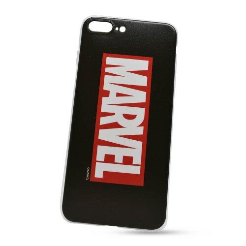Puzdro Marvel TPU iPhone 7 Plus/8 Plus vzor 001 - čierne (licencia)