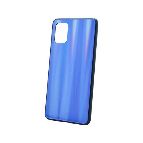 Plastový kryt na telefón Aurora Samsung Galaxy A71 tmavomodrý