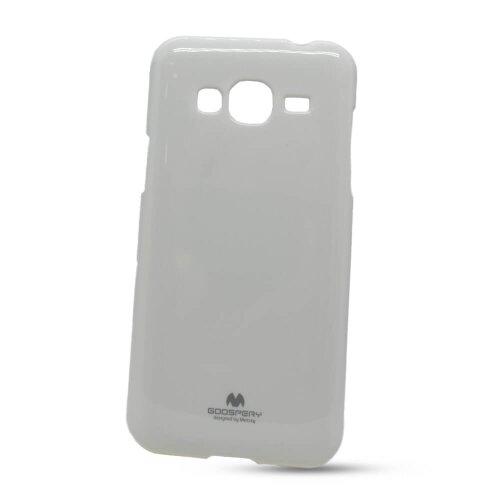 Puzdro Mercury Jelly TPU Samsung Galaxy J3 J320 2016 - biele