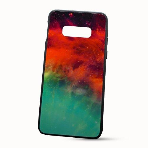 Puzdro Glass Neon TPU Samsung Galaxy S10e G970 - galaxia
