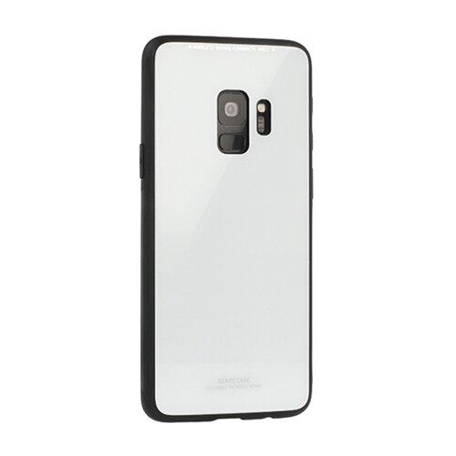 Puzdro Glass Hard TPU Samsung Galaxy J3 J320 2016 - biele