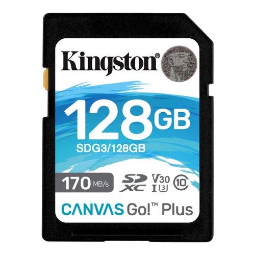 SDXC karta KINGSTON 128GB U3 V30 170/90MB/s