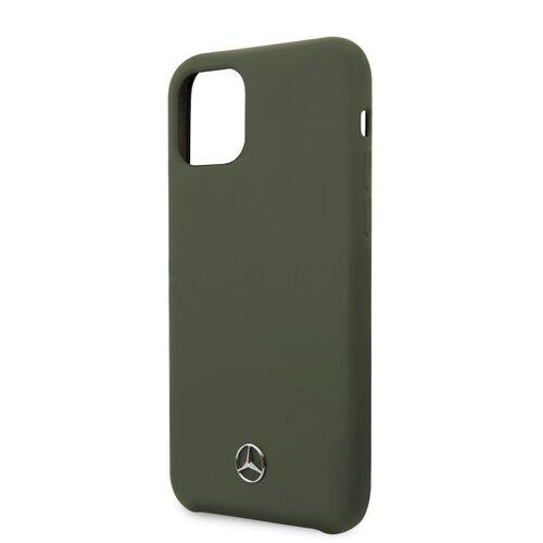 MEHCN58SILMG Mercedes Microfiber Lining Kryt pro iPhone 11 Pro