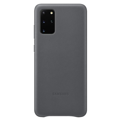 EF-VG985LJE Samsung Kožený Kryt pro Galaxy S20+ G985 Gray (EU Blister)