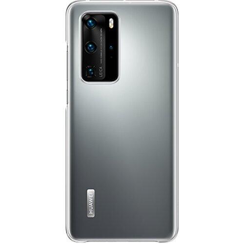Huawei Original Ochranný Kryt pro Huawei P40 Pro Transparent