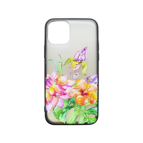 Plastový kryt iPhone 11 kvetinový vzor 2