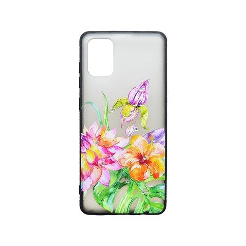 Plastové puzdro Samsung Galaxy A51 kvetinový vzor 2