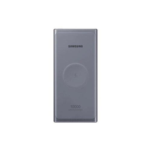 Power Bank s bezdrôtovým nabíjaním Samsung EB-U3300XJE Type-C 10000mAh Sivý