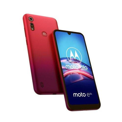 Motorola Moto E6s 2GB/32GB Dual SIM, Červený - SK distribúcia