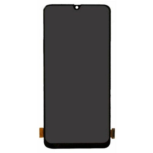 Samsung Galaxy A70 A705 - LCD Displej + Dotyková Plocha - Čierny (Service Pack)