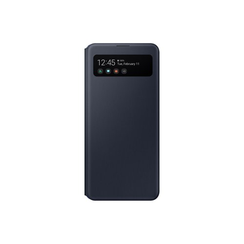 EF-EA415PBE Samsung S-View Pouzdro pro Galaxy A41 Black