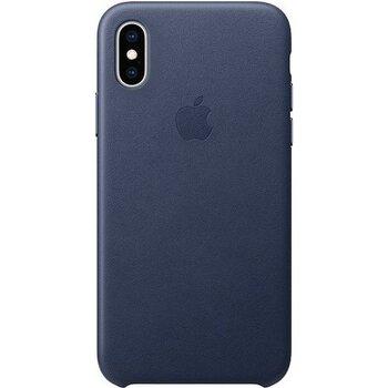 MRWP2ZM/A Apple Kožený Kryt pro iPhone X/XS Midnight Blue (EU Blister)