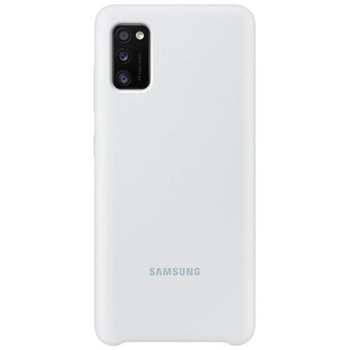 EF-PA415TWE Samsung Silikonový Kryt pro Galaxy A41 White