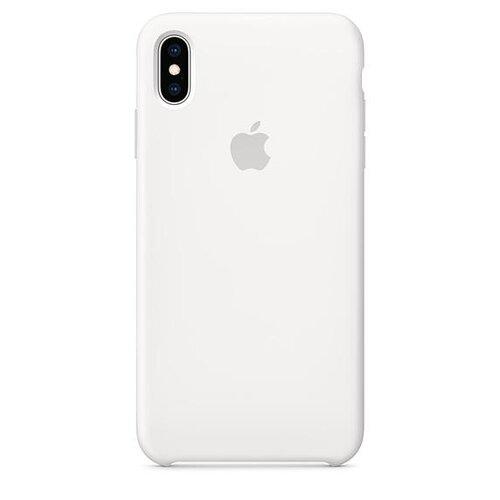 MRW82ZM/A Apple Silikonový Kryt pro iPhone X/XS White