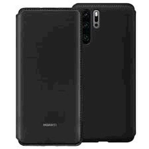 Huawei 51992866 Wallet púzdro pre Huawei P30 Pro, čierne