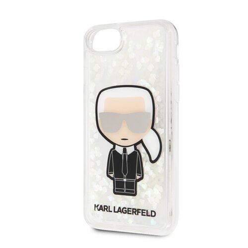 Puzdro Karl Lagerfeld pre iPhone 8/SE2020 KLHCI8GLGIRKL silikónové, zlaté